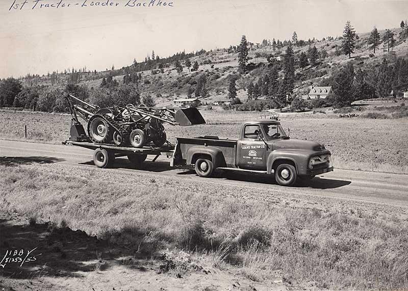 First Tractor Loader Backhoe