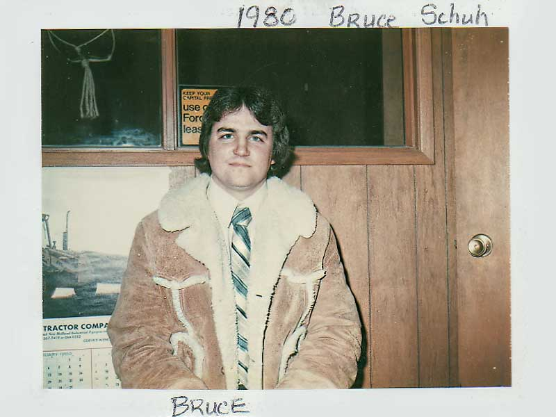 Bruce Schuh Joins the Team
