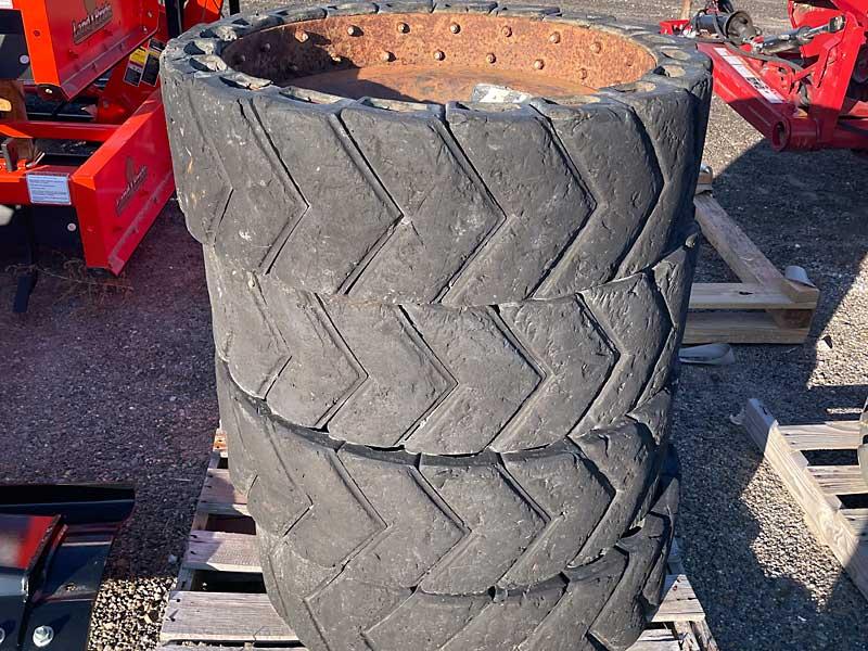 Air Boss Solid Skid Steer Tires